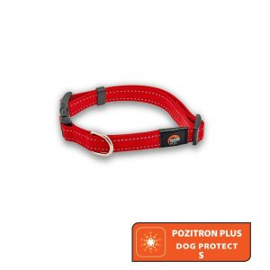 Pozitron Plus Dog Protect S (Red Collar)