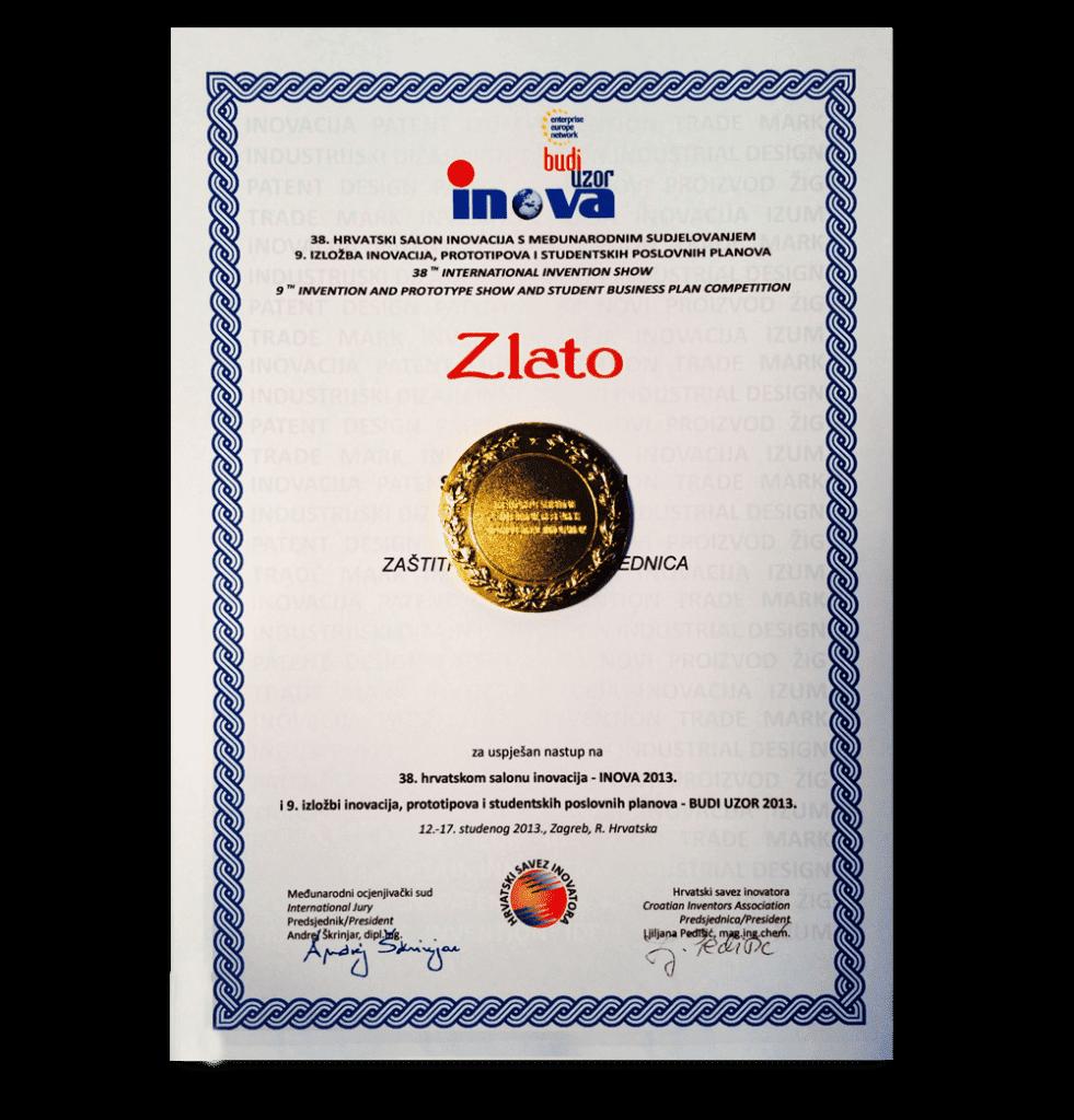 INOVA ZAGREB GOLD MEDAL