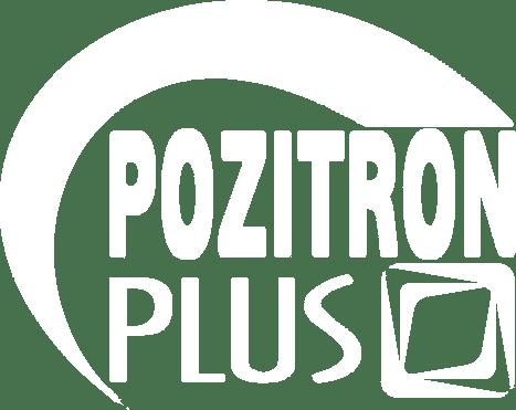 Pozitron Plus White Logo