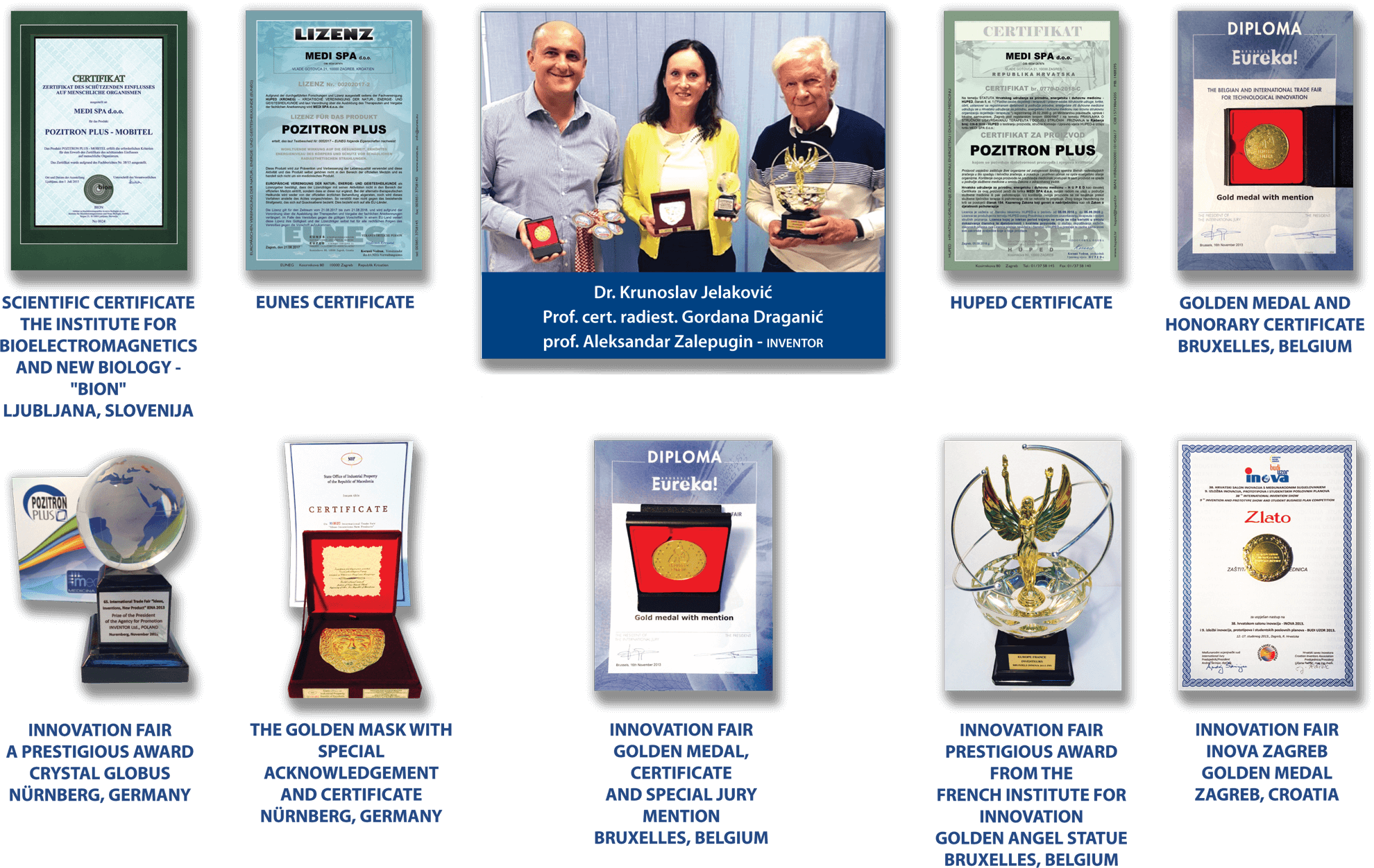Pozitron Plus Awards