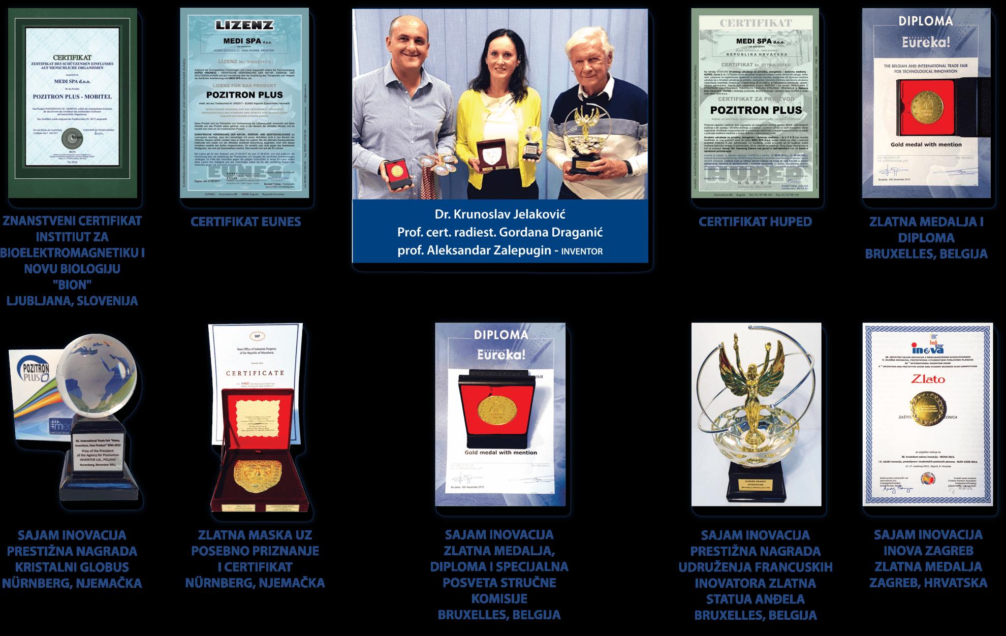 Pozitron Plus Nagrade i Priznanja
